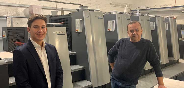 Close Brothers Asset Finance funds cutting-edge printing press for Richline Graphics