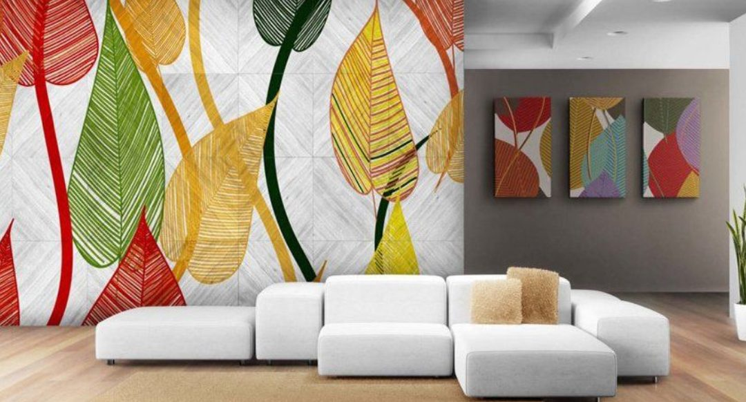 Decorate the walls: Digitally Printed Wallpaper
