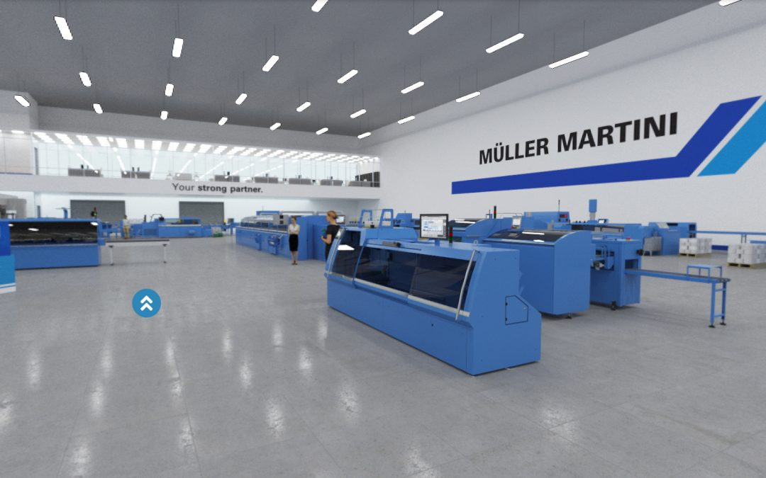 Muller Martini expands Printing Expo showroom ready for Virtual.drupa