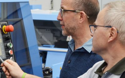 Treat Your Best and Most Experienced Operators to Müller Martini's MM Improve Training