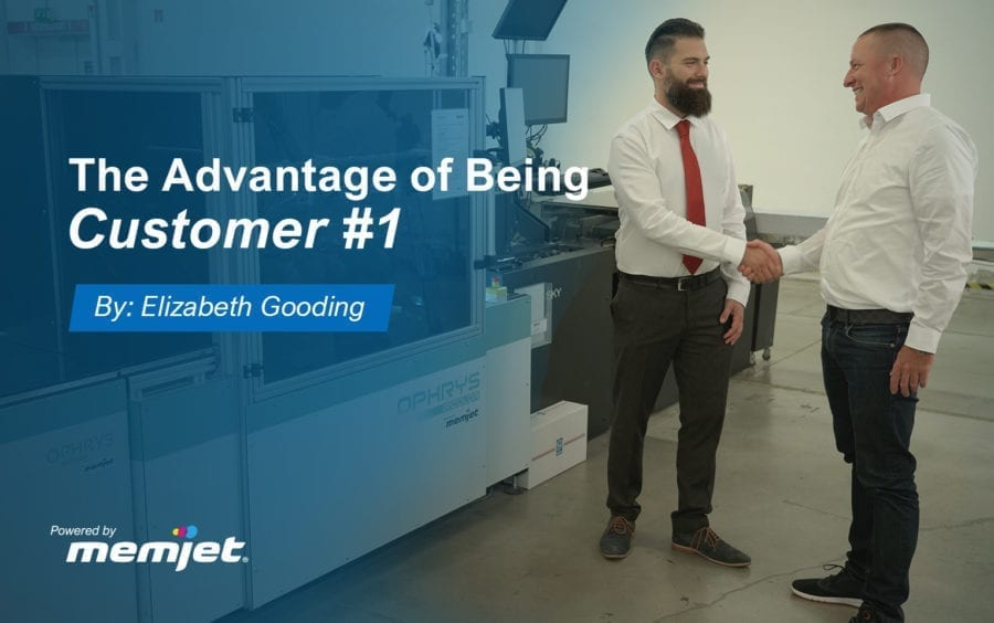 The Advantage of Being Customer #1
