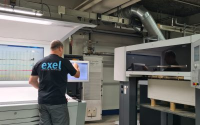 Clays installs first Heidelberg press from Exel Printing Machinery
